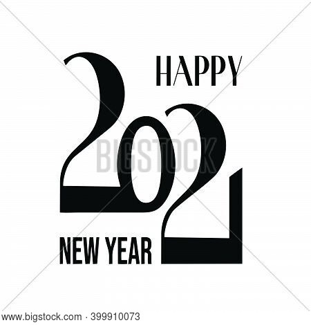New Year 2021. Happy New Year 2021. Happy New Year 2021 Vector Background Illustration Template. Whi