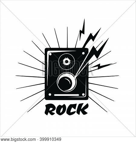 Sound System Icon Isolated On White Background From Electronics Collection. Trendy Sound System Icon