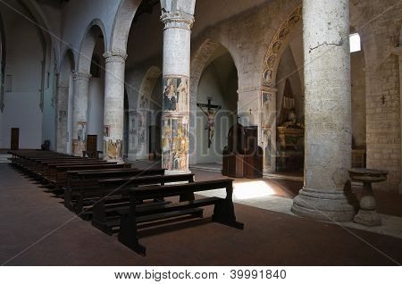 Church of St. Francesco. Narni. Umbria. Italy.