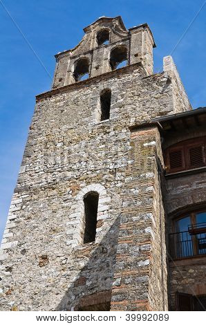 Belltower of St. Bernardino. Narni. Umbria. Italy.
