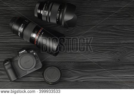 Canon Eos R Photocamera And Mount Adapter Ef - Eos R With Canon 105mm F2.8 And Sigma 24-105 F4 Art L