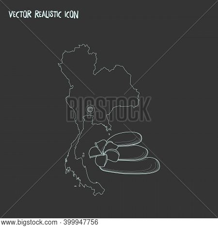 Thailand Icon Line Element. Vector Illustration Of Thailand Icon Line Isolated On Clean Background F