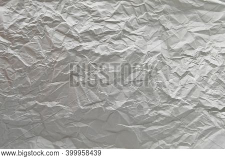 Grunge White Crumpled Empty Paper Texture, Background Wallpaper Paperboard