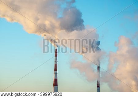 Air Pollution And The Problem Of Global Warming After A Release Of Co2 Into The Atmosphere From The