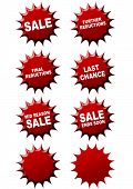 8 sale stickers to make offers and promotions stand out and increase sales poster