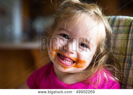 Messy Baby Girl