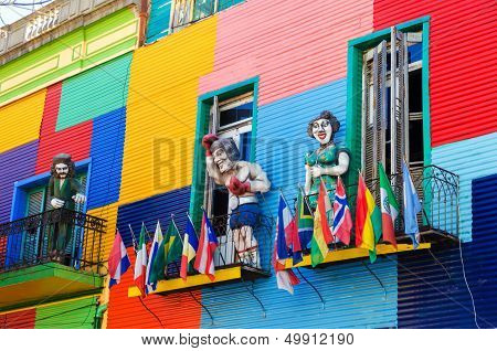 Colors And Statues