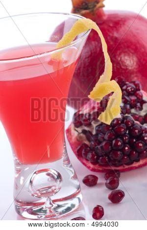 Pomegranate Martini - Most Popular Cocktails Series