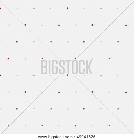 Sample seamless snowflakes background.