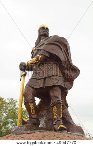 Prince Mal Sculpture - Hero Of Russian Epic