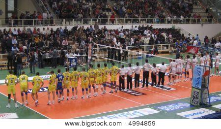 Volleyball: Trentino Volley Vs Modena