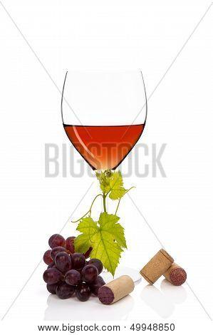 Luxurious Rose Wine.