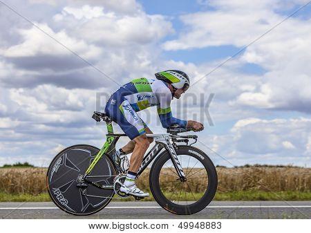The Australian Cyclist Simon Gerrans