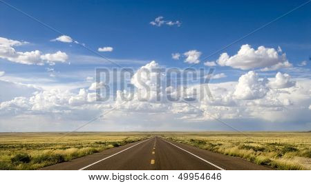 Beautiful area along the historic Route 66 in Arizona