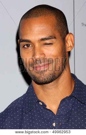 LOS ANGELES - AUG 24:  Lamon Archey at the Young & Restless Fan Club Dinner at the Universal Sheraton Hotel on August 24, 2013 in Los Angeles, CA