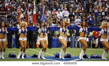 Cowboys Cheerleaders Lineup