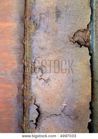 Old Rusty Metal Sheet