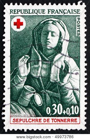 Postage Stamp France 1973 Mary Magdalene