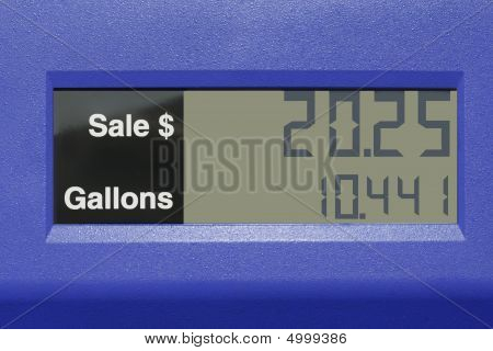 Gas Pump Price Counter