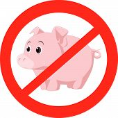 not mash swine virus flu cold pig epidemic poster
