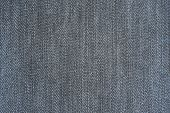 Texture of a material from denim of blue color poster