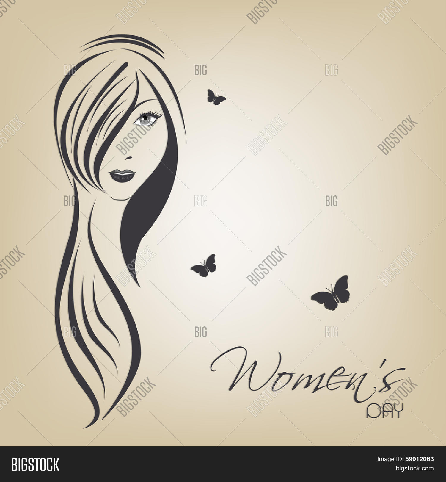 Happy Womens Day Image Photo Free Trial Bigstock