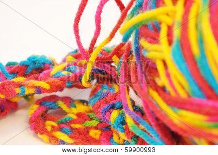 Multi Coloured Yarn