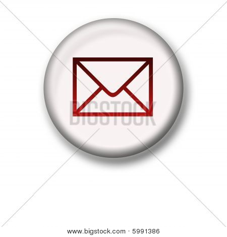 Illustration Of An Envelop Icon