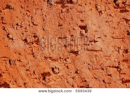 Surface Of Red Brick