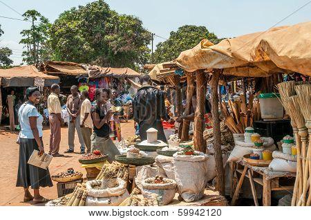 Market In Livingstone