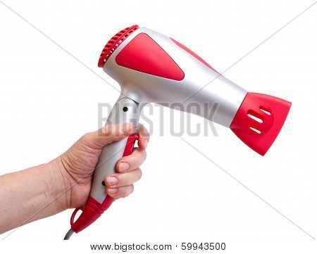 Hand With The Hair Dryer