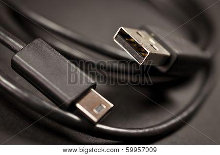 USB and mini USB Cable