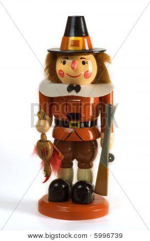 Thanksgiving Holiday Pilgram Nutcracker