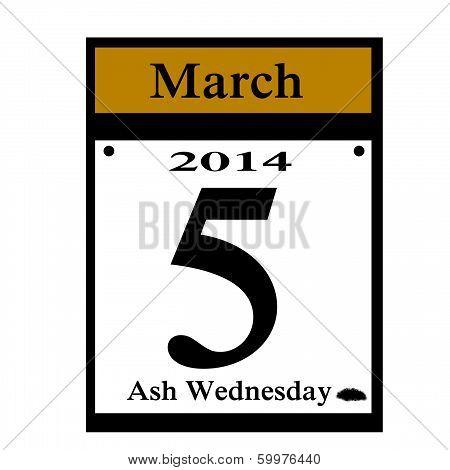 lent calendar icon