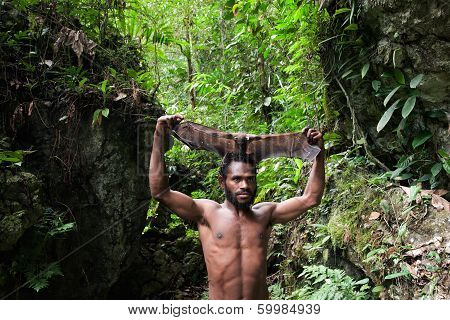 Yaffi Man With Bat