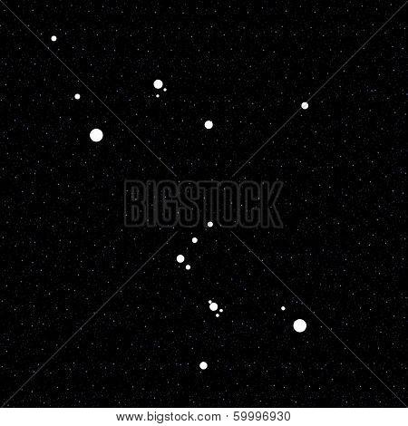 Orion Constellation - Illustration