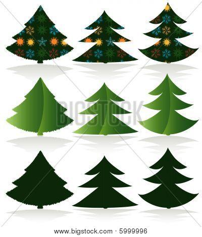 Xmas Tree Set