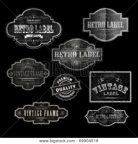 Retro Labels00Black