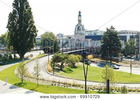 View Of Le Lieu Unique Building In Nantes