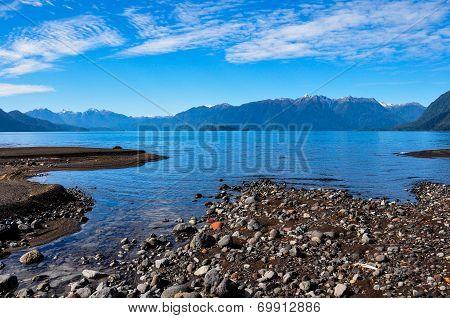 Trail Around Lago Todos Los Santos, Chile