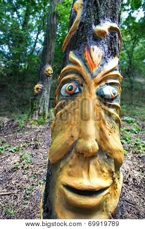 Ozora, Hungary - August 01: Contemporary Art On Ozora Festival, One Of The Greatest Psychedelic Musi