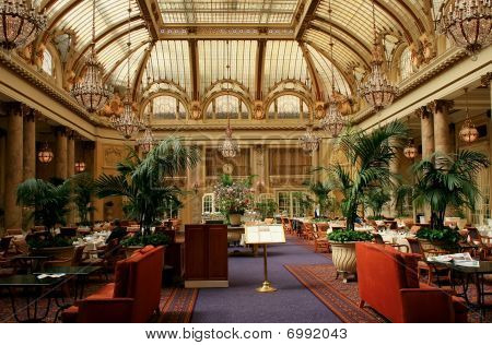 Luxury Hotel Restauran Interior, San Francisco