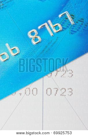 Credit Card With Bankbook.