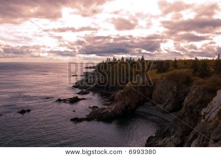 Bold Coast Sunset