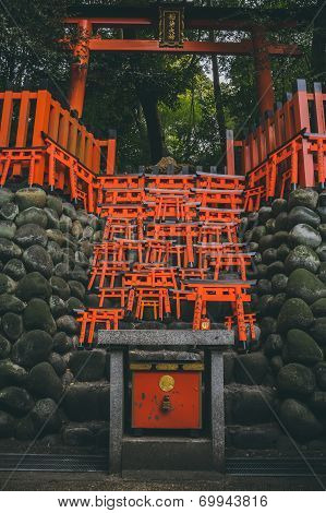 Little torii gates