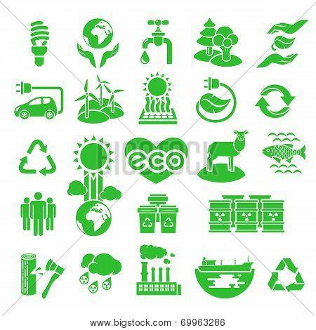 Eco Icons Silhouettes