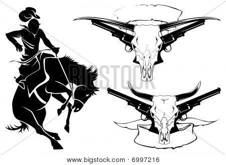 Tattoo wild west