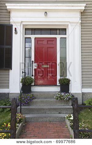 Red Door, Home