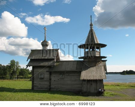 Kizhi Museum of wooden architecture, World Heritage sight of UNESCO