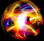 Light Drawing Vivid Wallpaper  poster